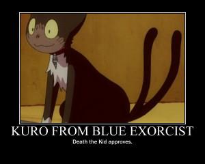 Kuro from Blue Exorcist by Pferdekopf