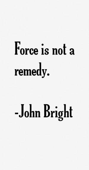 John Bright Quotes & Sayings