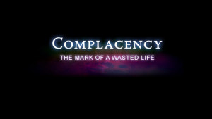 Complacency Sayings