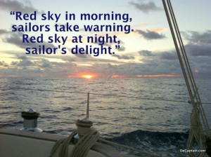 red sky decaptain great sailing quotes sailing quotes sunrise