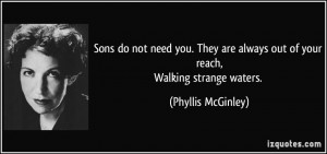 More Phyllis McGinley Quotes
