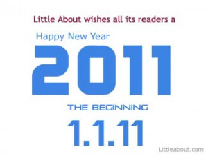 Wish you all a Happy New and Prosperous New Year 2011