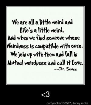 cute, dr seuss, fairytale, love, pretty, quote, quotes