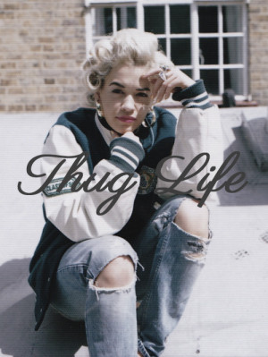 thug life Rita Ora