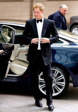 Prince Harry attends the Walking with the Wounded Crystal Ball gala ...