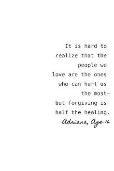 ... realize that hurt is inevitable. It's all in how you handle it. More