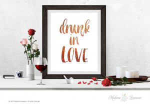 drunk in love printable quotes lyrics quotes Beyonce printable art ...
