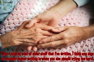 Elderly Hands quotes
