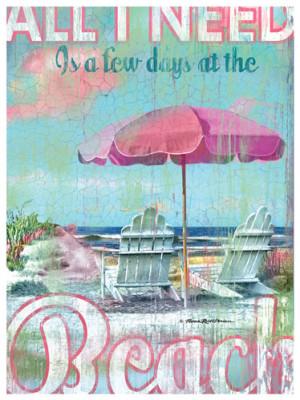 Few Days At The Beach Print