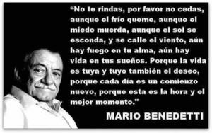 Mario Benedetti --- Vista en Google+