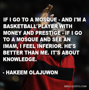 Hakeem Olajuwon Basketball Quotes