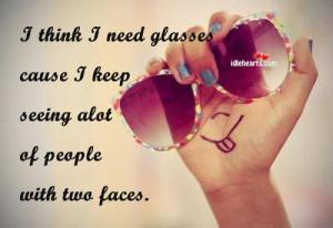 Think I Need Glasses Cause I Keep Seeing…
