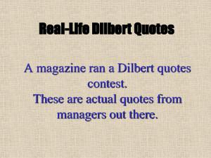 dilbert quotes contest, scott,