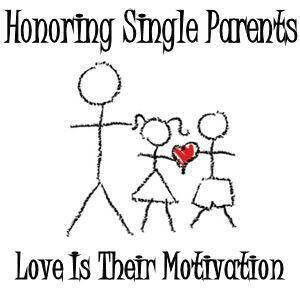 Love being a single parent