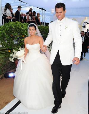 ... deux princes © DR/Twitter Kanye West Kim Kardashian et Kris Humphries