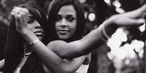 Aaliyah And Kidada Jones