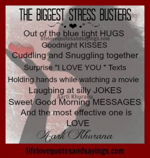 Stress Busters...