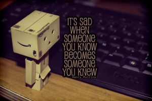 Danbo quotes about friends leaving footprints on our hearts – Danbo ...