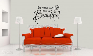 Wall Quote Decal Sticker Vinyl Art Decor Lettering Fashion Wall ...