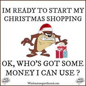 ready to start Christmas shopping