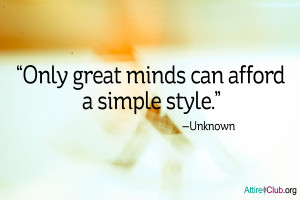 Only Great Minds Quote Attire Club