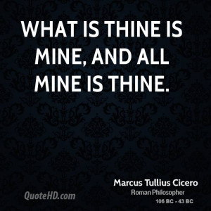 what 39 s mine is mine quotes