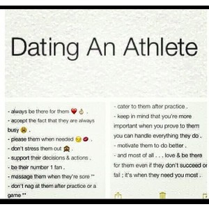 Dating an athlete Cute quotes