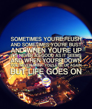 Sometimes You're Flush & Sometimes You're Bust: Blow Movie Quote