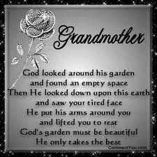 quotes grandmother poems grandmother death quotes grandmother ...