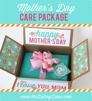 Pin Farewell Gifts For Mother's Day Care Package : The Dating Div