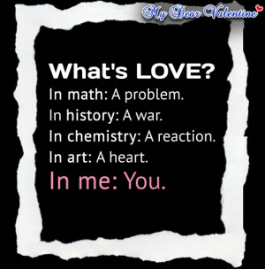 What's Love Love Poems