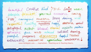 Inspirational Adjectives, Positive Words Adjectives, Inspirational ...