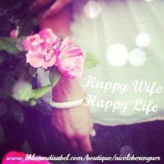Happy Wife, Happy Life #bestquoteever #quote #happywife #happylife # ...