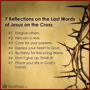 Reflections on Jesus' Seven Last Words