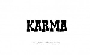 Karma Tattoo Design Willemxsm
