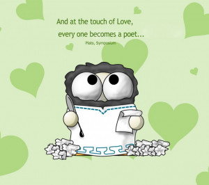 ... Quotes About Love: An Interesting Quote About Love And Cute Cartoon