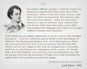 armenia lord byron about armenians lord byron quote lord byron quote ...