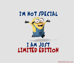 ... minion attitude quotes fb profile picture home minions quotes i m not