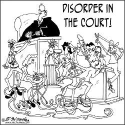 disorder_in_the_court_greeting_card.jpg?height=250&width=250 ...