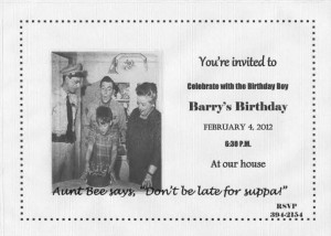 Friends Tv Show Quotes Birthday A mayberry birthday party