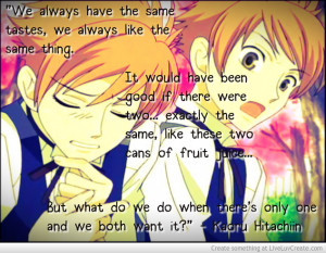Ouran High School Host Club Quotes