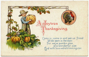 Top Funny Thanksgiving Poems For Children 2014