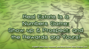Nudging the boundary of complacency in Real Estate Success