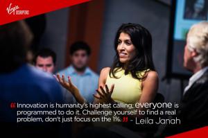 while Samasource CEO Leila Janah had some strong views on tackling ...