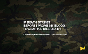 Soldier Sacrifice Quotes