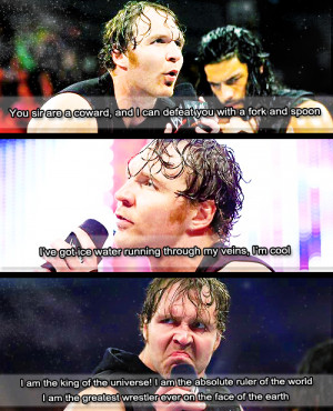 Wwe Dean Ambrose Funny