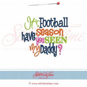 Tiger Football Sayings 6016 sayings : it's football