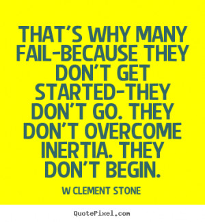 quote about inspirational by w clement stone make custom quote image
