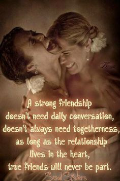 , Bff, friendship Quote https://www.facebook.com/pages/Soul-Sisters ...