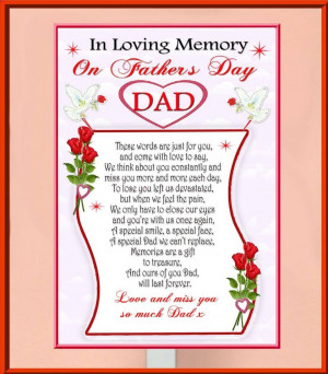 In Loving Memory Quotes For Dad In loving memory on fathers